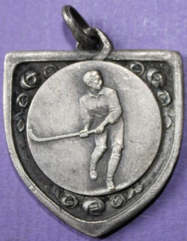 Field Hockey Medal from Belgium - 1935  (front)