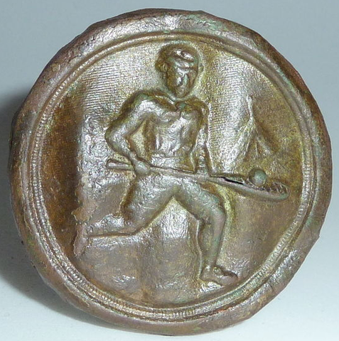 Lacrosse Badge from the mid to late 1800s