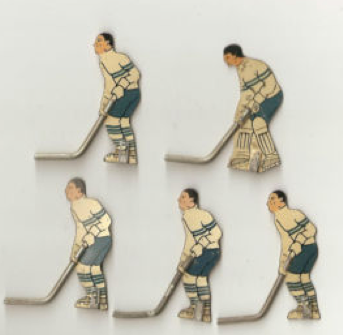Table Top Hockey Players - 1930s - 40s