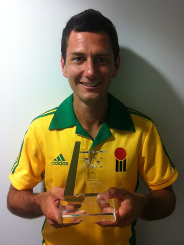 Jamie Dwyer - FIH Player of the Year - 2011