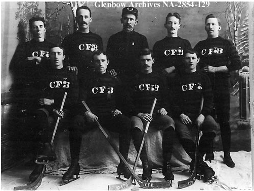 Calgary Fire Brigade Ice Hockey Team 1894-95