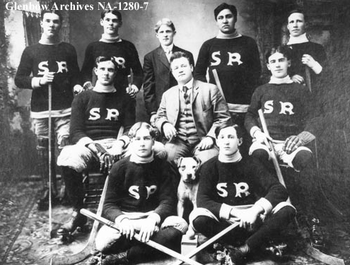 Roller Hockey Team from Calgary - 1908