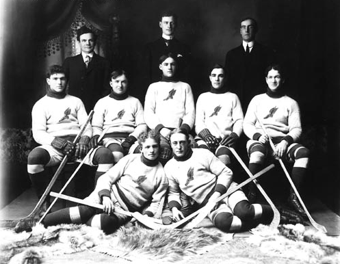 Ice Hockey Team - circa 1910