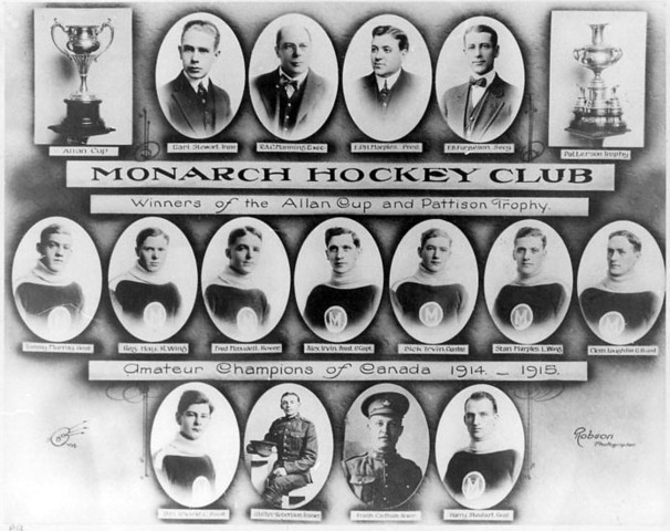 Winnipeg Monarchs - Allan Cup Champion 1915