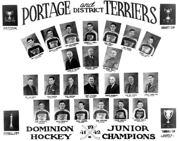 Portage Terriers - Memorial Cup Champions 1942
