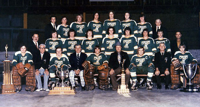Portage Terriers - Centennial Cup Champions 1973