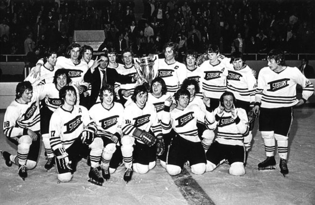 Selkirk Steelers - Centennial Cup Champions 1974