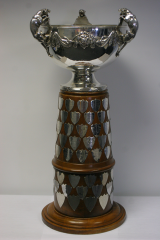 Original title:  J. Ross Robertson Cup - OHA Senior A Championship Trophy
