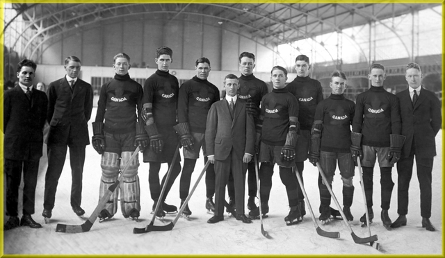 Winnipeg Falcons - The 1st Olympic Ice Hockey Champions