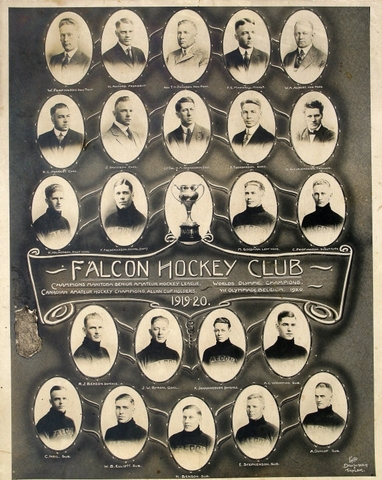 Falcon Hockey Club - Allan Cup, World and Olympic Champions 1920
