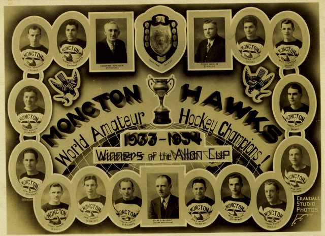 Moncton Hawks - Allan Cup Champions 1934