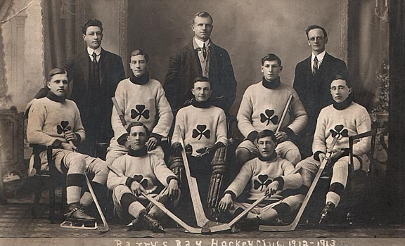 Barrys Bay Ice Hockey Team - 1913