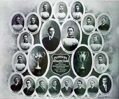 Cliffside Athletic Club - First  Allan Cup Champions - 1909