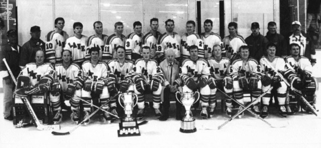 Warroad Lakers - Allan Cup Champions 1995