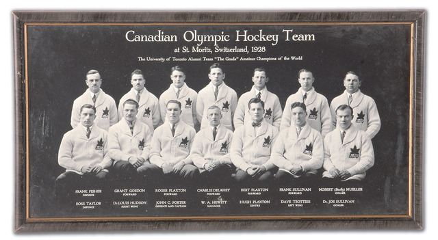 The Varsity Blues - Team Canada - Winter Olympic Champions 1928