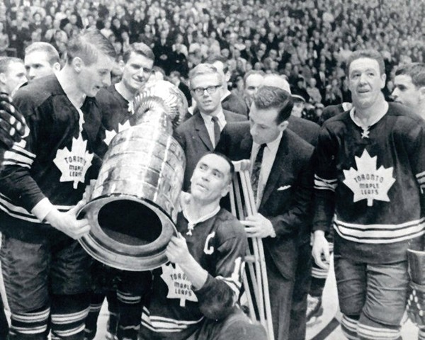 George Armstrong - Toronto Maple Leafs Captain & The Stanley Cup