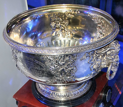 The Art Ross Trophy - Close Up View