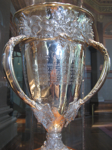 Calder Memorial Trophy - Up Close View