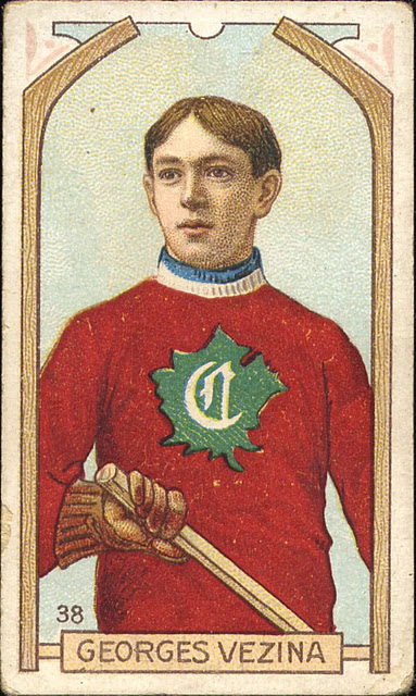 Georges Vezina Hockey Card 1910 11 Hockeygods
