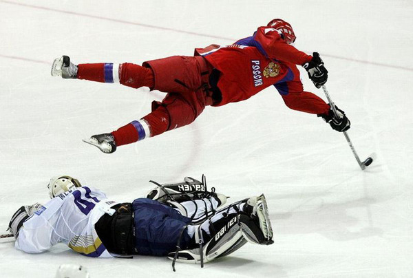 Evgeni Malkin Superman Goal at World Championship