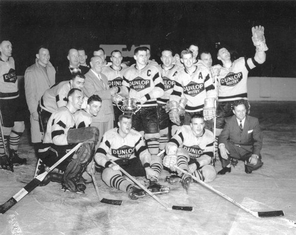 Whitby Dunlops - Allan Cup Champions - 1959