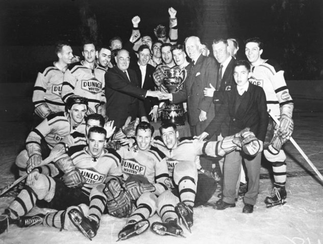 Whitby Dunlops - Allan Cup Champions - 1957