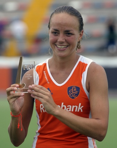 Maartje Paumen - FIH Player of the Year - 2011