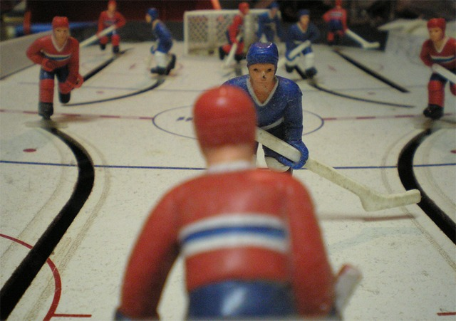 Dusty Table Hockey