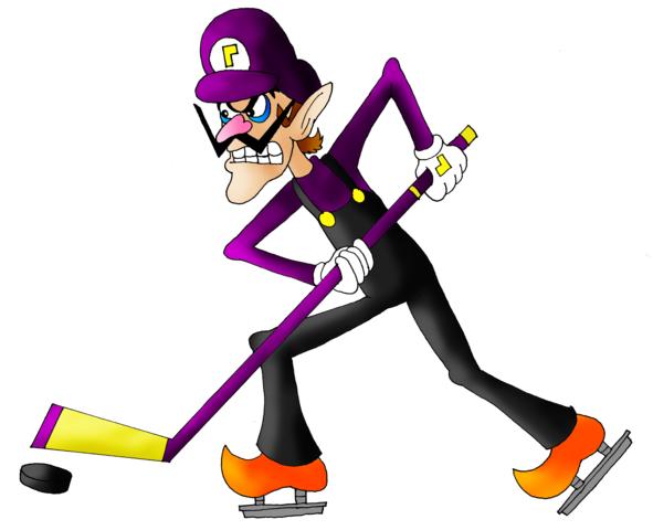 Nintendo Waluigi amiibo Figure (Super Mario Series ...  Ice Waluigi