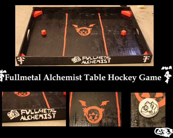 Full Metal Alchemist - FMA Table Hockey Game