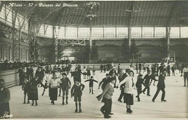 Palazzo del Ghiaccio - 1st Indoor Ice Skating Arena in Europe