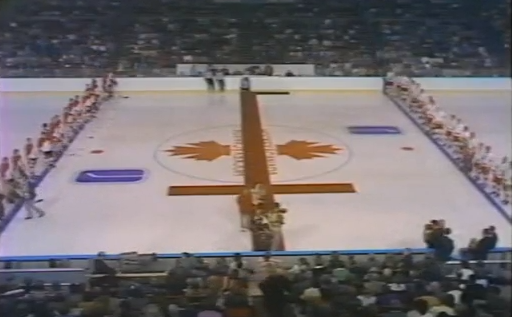 Summit Series - 1972 - Game 4 - Vancouver - Pre Game Ceremony