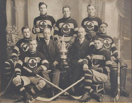 Cobalt Hockey Club - Champions Temiskaming League - 1909