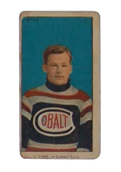 C. Toms - Cobalt Hockey Club  - Hockey Card - 1909