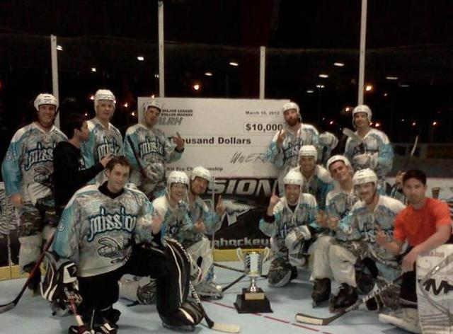 MLRH - Major League Roller Hockey Champions 2012 - Mission Axiom