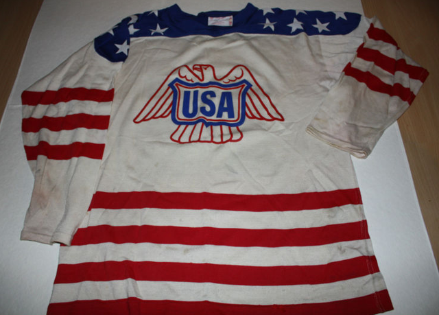 Team USA Jersey - Warren Williams - 1977 - World Championships