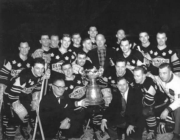 Whitby Dunlops - J Ross Robertson Cup Champions - 1959