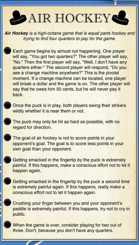 Air Hockey - A Fun Look at Some Rules
