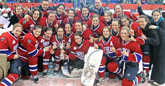 Montreal Stars Clarkson Cup Champions 2012 HockeyGods