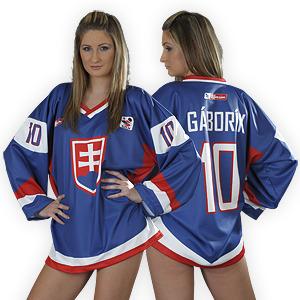 brand new 2ba4b 79505 Hockey Goddess In a Marian Gaborik Jersey - Team Slovakia ...