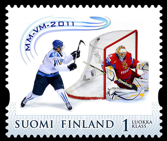 Mikael Granlund Goal of The Year Stamp - Finland