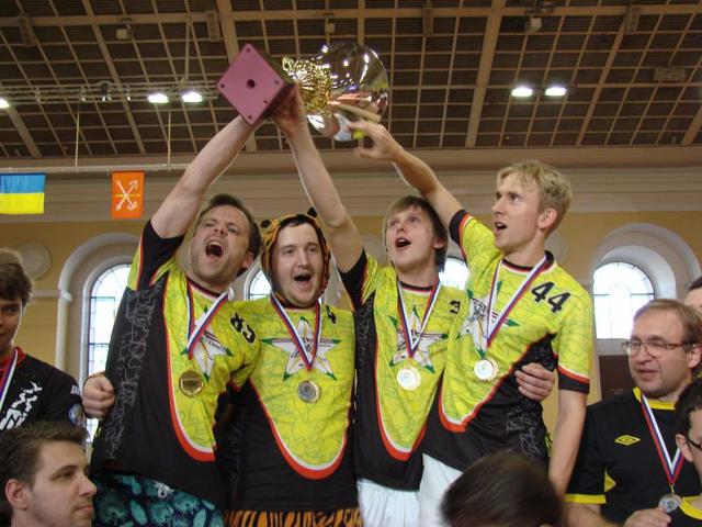 BJC Laimite Wins 2012 Table hockey World Club Championship