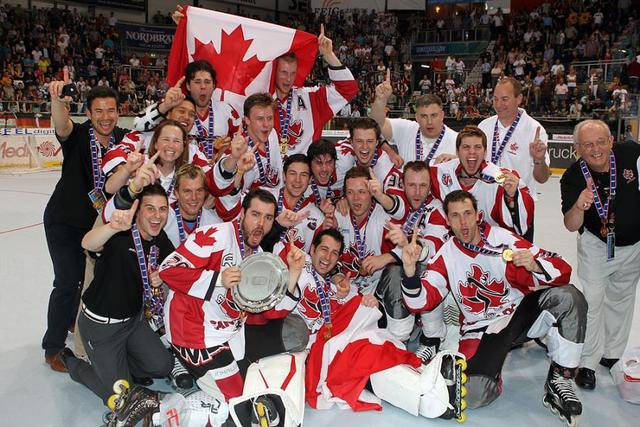 Inline Hockey World Champions - Team Canada - 2012