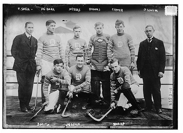 Detroit Roller Polo Team - Circa 1910