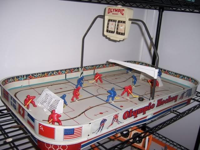 Table Top Hockey Game - Olympic Hockey