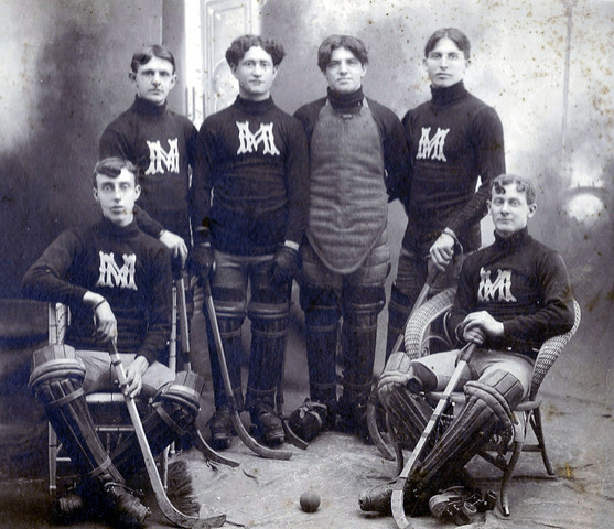 New Market Roller Hockey / Polo Team - 1901