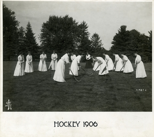 Iowa State College Field Hockey Team - 1906 - Ladies