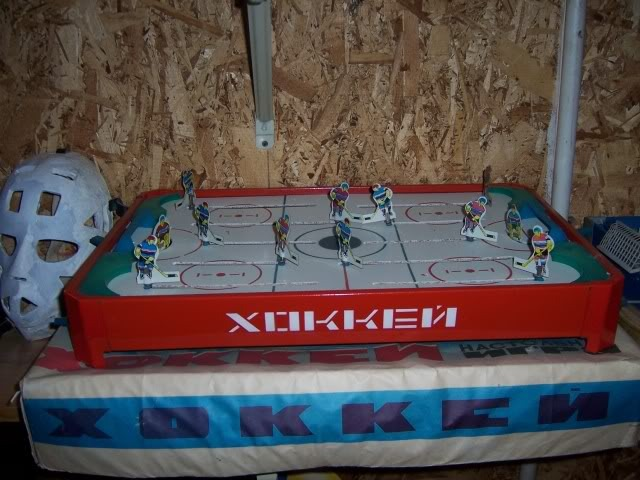 Table Top Hockey Game - Russian