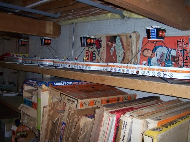 Table Top Hockey Games & Original Boxes