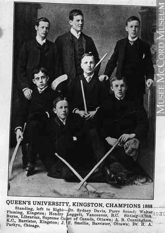Queens University - Kingston Champions - 1886